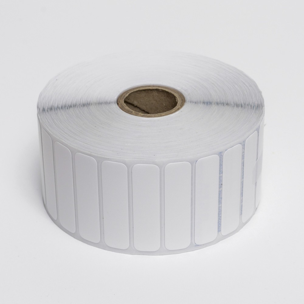 Rolls of 2000 46mm x 12mm Iron-On Nametags<br> Roll of 2,000 Pre-cut Labels